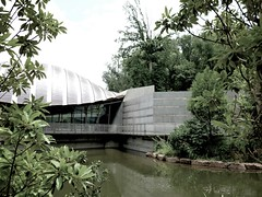 Architect, Moshe Safdie (Boston, MA) (harvobro) Tags: trip sculpture art museum architecture landscape arkansas grounds bentonville americanart architectmoshesafdie walmartfunded