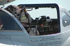 VH-VAM/A79-617 De Havilland Vampire T.35 (DH-115) Temora Aviation Museum (Robert Frola Aviation Photographer) Tags: nikond70 2008 dehavillandvampire yamb cockpits temoraaviationmuseum vhvam dehavillandaustralia defenceforceairshow2008