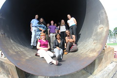 Intern tour of the 8ft high temperature tunnel (NASA LARSS) Tags: virginia high stem technology tour engineering tunnel center science nasa research va ann mathematics temperature hampton langley internship larc htt internships howton 8ft larss annhuston nicolepettinghill austinmauney saranjadhali kanishamitchell markpalframan