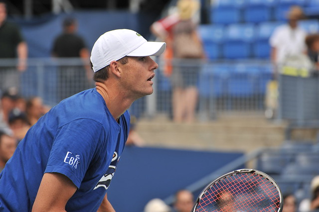 JOHN  ISNER  /   US  OPEN  2013    -    Louis Armstrong Stadium,  Flushing Meadows  NY    -