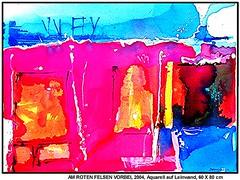 AM ROTEN FELSEN VORBEI (CHRISTIAN DAMERIUS - KUNSTGALERIE HAMBURG) Tags: orange berlin rot silhouette modern strand deutschland see licht stillleben dock gesicht meer wasser foto fenster räume hamburg herbst felder wolken haus technik porträt menschen container gelb stadt grün blau ufer hafen landungsbrücken wald nordsee bäume ostsee schatten spiegelung schwarz elbe horizont bilder schiffe ausstellung schleswigholstein landschaften dunkelheit wellen häuser kräne rapsfelder fläche acrylbilder hamburgermichel realistisch nordart acrylmalerei acrylgemälde auftragsmalerei bilderwerk auftragsbilder kunstausschreibungen kunstwettbewerbe galerienhamburg auftragsmalereihamburg cdamerius hamburgerkünstler malereihamburg kunstgaleriehamburg galerieninhamburg acrylbilderhamburg virtuellegaleriehamburg acrylmalereihamburg