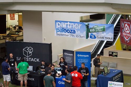Partner Palooza from the Second Floor