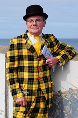Sharply Dressed (EJ Images) Tags: uk portrait england slr coast nikon norfolk suit coastal 1940s characters dslr sheringham eastanglia nikonslr d90 northnorfolk norfolkcoast nikondslr 2013 1940sweekend nikond90 55300mmlens sheringham1940sweekend ejimages dsc0262c