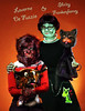DeFuzzio & Frankenfeeney (crowolf) Tags: werewolf cat wolf bull frankenstein l shirley laverneshirley laverne frankenweenie feeney crowolf wolfwoman crowolfiantomfoolery inspiredbyjennytimburtonandbasilgogos defazzio defuzzio frankenfeeney