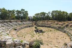 Teatro romano. (Martinaway) Tags: italy history italia sicily sicilia siracusa romantheatre teatroromano neapolis martinaway
