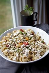 Roasted cherry tomato and goat cheese pasta (Danube66) Tags: recipe pasta canon5d goatcheese roasted markii cherrytomato
