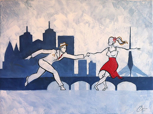 Lindy-Hopping-in-Melbourne-commission-painting