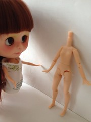 Custom blyh doll + pico nemo (mishanetoto) Tags: doll pico blythe neemo blyh hujoo