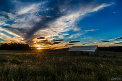 The Old Hay Shed (jmadphototography) Tags: sunset nikon dusk shed australia tasmania haybarn d7000 nikond7000 jmadphotography