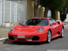Ferrari F430 (Joo Paulo Fotografias) Tags: brazil cars brasil lumix photography flagra go automotive super ferrari panasonic brazilian 40 paulo fz fotgrafo joo goinia f430 ruas supercars gois captura gyn machina automotivo exclusivos flagras esportivos extics