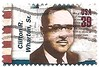USA stamp - Clifton R Wharton - diplomat (sftrajan) Tags: usa stamps stamp timbre postagestamp philately sello briefmarke 邮票 francobollo sellopostal 切手 commemoratives 39cents americandiplomats почтоваямарка филателия डाकटिकट cliftonrwharton