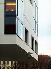 Hochschulbibliothek der HTWK Leipzig, Leon Wohlhage Wernik, 2009. (Martin Maleschka) Tags: bibliothek leipzig sachsen architektur 2014 connewitz htwk htwkleipzig ©martinmaleschka leonwohlhagewernik