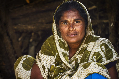 A brick maker's wife in Khulna, Bangladesh. Photo by Felix Clay/Duckrabbit.