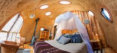 EcoCamp Patagonia - Suite Dome interior (Cascada Expediciones) Tags: torresdelpaine chile nature dome suite patagonia ecocamp cascada ecodome accommodation domeinterior bedroom