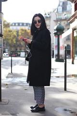 Street style Paris (Marie-Paola Bertrand-Hillion) Tags: winter paris fashion chinese sunny streetfashion placedelamadeleine streetstyle ootd fashionpic
