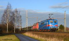 151 170-8 SRI und 140 853-3 EGP (vsoe) Tags: train germany deutschland engine eisenbahn railway sri bahn 151 niedersachsen güterzug güterzugstrecke