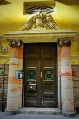 Door & monograms (elinor04 thanks for 27,000,000+ views!) Tags: door windows building architecture budapest entrance architect balconies artdeco portal monograms újlipótváros wigdorovits wigdorovitsarthur vigdorovitsartúr vigdorovits