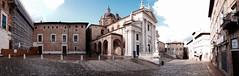 Urbino P.zza Duca Federico (Riccardo Lucchi) Tags: landscape panoramica urbino marche