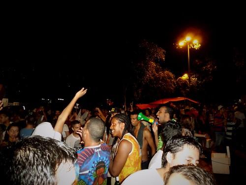 Carnaval, dans les rues de Sao Paulo, Brésil