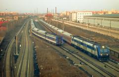 K340 meeting 0T243 () Tags: digital train canon tren trenes df railway zug bahnhof powershot treno harbin ferrocarril ferrovia    df11 df4 s100v