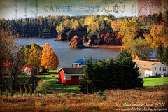 Fall in Colchester County (sminky_pinky100 (In and Out)) Tags: autumn houses sea canada fall landscape rocks pretty novascotia view postcard scenic textures coastal fundy colchestercounty omot cans2s