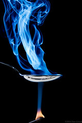 20140309 Smoke 275-With Flame (Dan_Girard_Photography) Tags: abstract art patterns smoke incense 2014 dangirardphotography