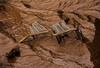 Enlisement (fquevillon) Tags: shopping magasin mud trolley cart chariot panier quicksand boue stalemate enlisement