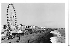 (DanielJPHadley) Tags: sea sky blackandwhite bw film beach analog 35mm canon pier seaside brighton promenade analogue seafront brightonbeach brightonpier fd palacepier ae1p ae1program canonfd brightonwheel