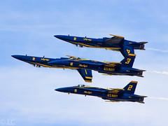 US Navy Blue Angels (Lazaro C.) Tags: hornet 18 blueangels fa klal sunnfun lakelandregionalairport