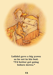 lofidel yawns (Onagusnet) Tags: wood old morning color socks illustration floors pencil ink vintage print dawn book duck bed bedroom 60s time drawing yawn skirt sheets retro read pillow sleepy thrift 80s pjs dreams 70s faux nostalgic childrens late bedtime hybrid pajamas nightcap bedpost unpublished fauxvintage risograph morningbreath