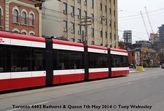 Toronto 4402 Bathurst & Queen (TonyW1960) Tags: toronto ttc tram bathurstqueen