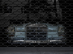 Mb at prison. (ehanoglu) Tags: classic car turkey mercedes benz aqua trkiye istanbul retro german mercedesbenz 230 mb kadky w114 prizon exoticistanbul
