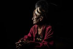 Nyahnyu Headhunter (carbajo.sergio) Tags: portrait people india nikon village tribal mon tribe northeast naga nagaland headhunter d600 headhunting angh konyak saylluiiis nyahnyu