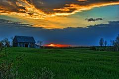 Sundown On The Farm (HDR & Topaz) (Dean Martin (Thirdeyepics)) Tags: nikon scenery farm farmland sudbury hdr simplyred topazadjust5 simplyred4x4 nikond7100