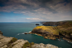 The Tintagel Cliffs (trevorhicks) Tags: ocean sea sky water clouds canon cornwall waves cliffs celtic tamron tintagel 6d