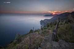 IMG_6290 (APINTUS) Tags: sunset panorama trekking canon landscape la long exposure italia tramonto 5 five liguria terre lands cinque lunga esposizione corniglia spezia 70d nd1000 volastra