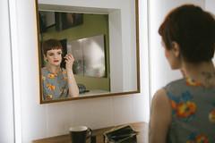 mirror mirror (mrksaari) Tags: finland studio mirror helsinki model makeup d750 bts turbox 2470mmf28g