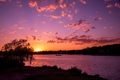 Sunset by the lake (Jon Ariel) Tags: michigan kirkinthehills sunset lake metrodetroit bloomfieldhills