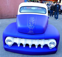 1951 Ford F-1 (bballchico) Tags: 1951 ford f1 pickuptruck fellascc johnnycroner grandnationalroadstershow gnrs2017 carshow saturdaydrivein