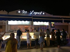 Legend Ice Cream at the Beach Promenade of Agadir (camping-aourir) Tags: agadir beach promenade soussmassa marokko mar camping aourir morocco ice cream legend nightlife icelegend icebar beachfront night