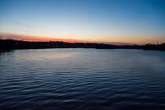Sunset waves (Greg Jarman) Tags: water night sunset nikon d7100 nkkor 1755 dx nature gallup park