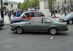 BMW 635 CSI DSCF7239 (kenjonbro) Tags: uk england green london westminster trafalgarsquare bmw coupe charingcross sw1 635csi worldcars kenjonbro fujifilmfinepixhs50exr vfc570x