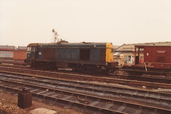 20153 19th March 1984 Derby (Ian Sharman 1963) Tags: station train march chopper diesel engine loco class 1984 20 derby 19th 20153