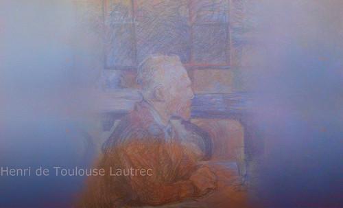 """Mentores, homenaje a Vincent van Gogh de Henri de Toulouse Lautrec (1887), y al padre de Pablo Picasso (1896). • <a style=""""font-size:0.8em;"""" href=""""http://www.flickr.com/photos/30735181@N00/8805087175/"""" target=""""_blank"""">View on Flickr</a>"""