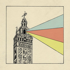 mix tape cover (srberes) Tags: illustration pen mix sevilla seville mixtape giralda