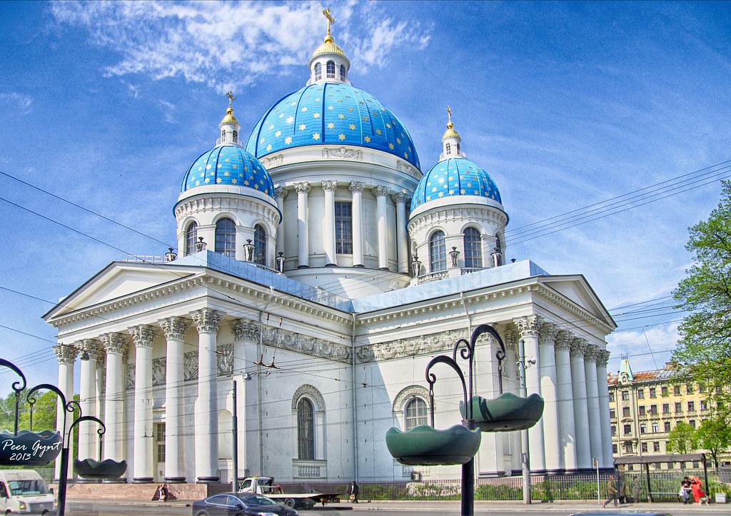 фото: Trinity Cathedral, Saint Petersburg   Троице-Измайловский собор, Санкт-Петербург