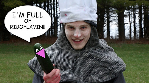 Evil Grin Gift Box Episode 11 - Michaelson's Mouthsome Masterpiece: Riboflavin Cumber