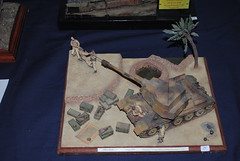 Modellismo (TAPS91) Tags: mostra self t time tea egyptian xii 1973 sinai 122 propelled modellismo howitzer fumetto millimetri