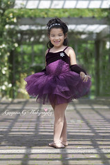 (Gigi1122) Tags: portrait ballet kids brooklyn garden botanical ballerina purple tutu