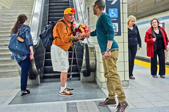 (asianz) Tags: flowers toronto ttc vendor